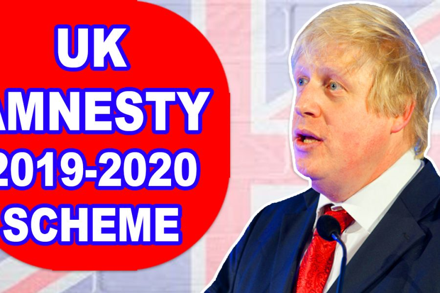 AMNESTY FOR 500,000 ILLEGAL MIGRANTS IN THE UNITED KINGDOM