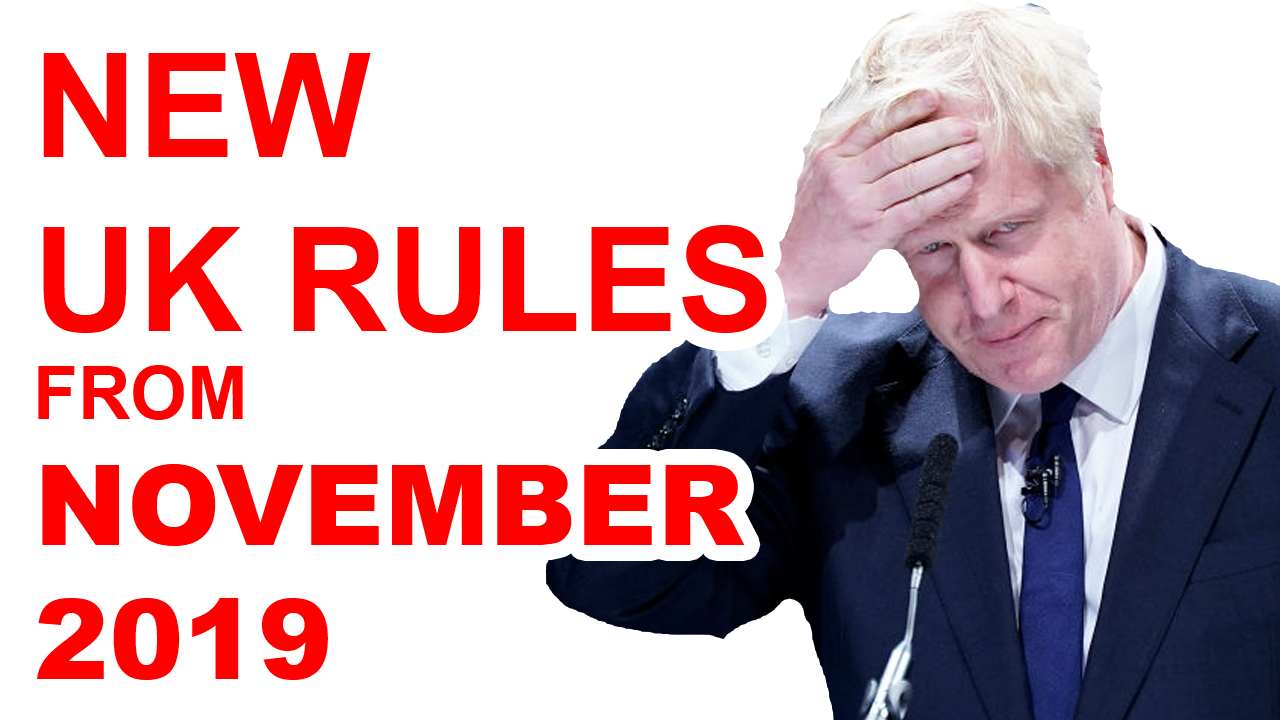boris johnson new uk rules post brexit no deal